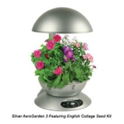 AeroGrow AeroGarden 3 with 3 Pod English Garden Flowers Seeds