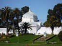 San Francisco Conservatory of Flowers in Golden Gate Park