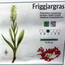 Platanthera hyperborea, Northern Green Orchid, orchid species illustration and distribution map in Iceland, orchid name shown in Icelandic Latin English and German