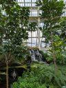 Waterfall in the Temperate House, Kew Gardens, RBG Kew, London, UK