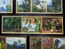 Nature paintings, The Marianne North Gallery at Royal Botanic Gardens, Kew in London, UK; oil paintings done by Marianne North, English biologist and botanical artist